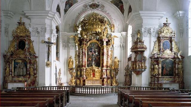 Blick ins Innere der Klosterkirche.