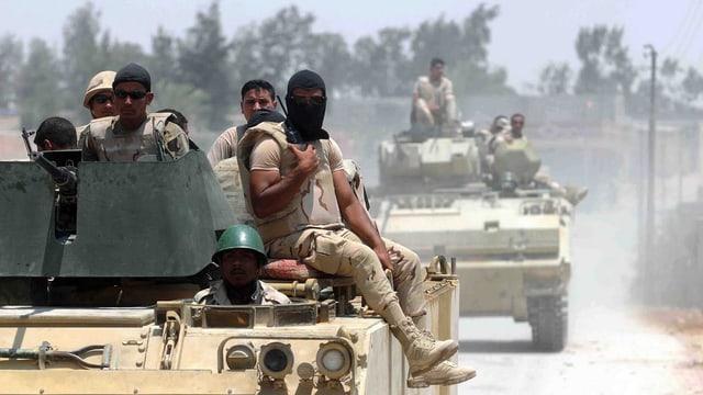 Militar egipzian.
