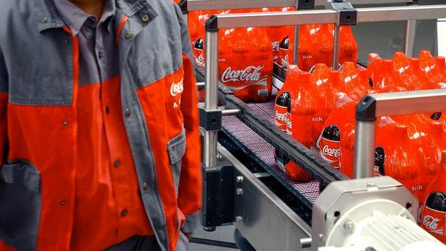 Buttiglias da Coca-Cola.