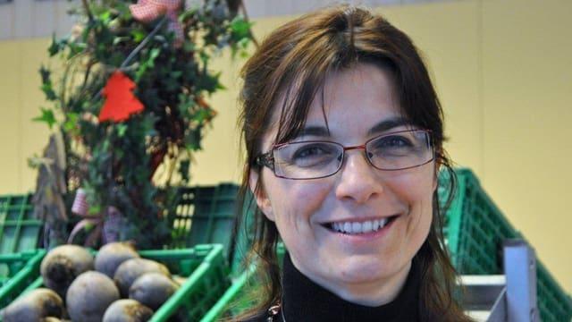 Geneviève Gassmann, Direktorin des Landwirtschaftlichen Instituts Grangeneuve Freiburg