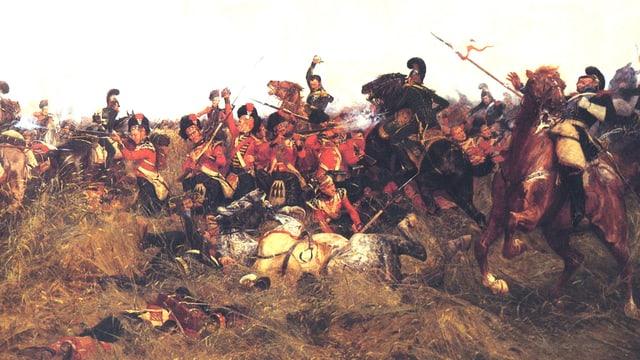 Die Schlacht bei Quatre-Bra: Auch im 19. Jahrhundert war das Schlachtgedonner unüberhörbar.