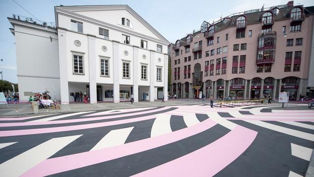 Ansicht des Luzerner Theaters