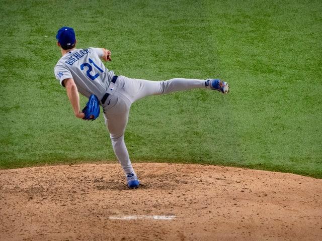 Walker Buehler von den Los Angeles Dodgers.