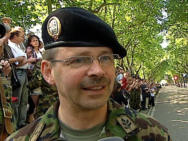 Divisionär Hans-Peter Kellerhals, Kommandant Territorialregion 4