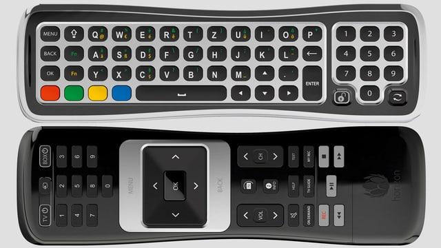 Die Horizon-Fernsteuerung von UPC Cablecom.