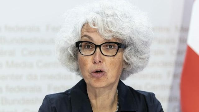 Katrin Schneeberger, die neue Direktorin des Bundesamts für Umwelt (Bafu).