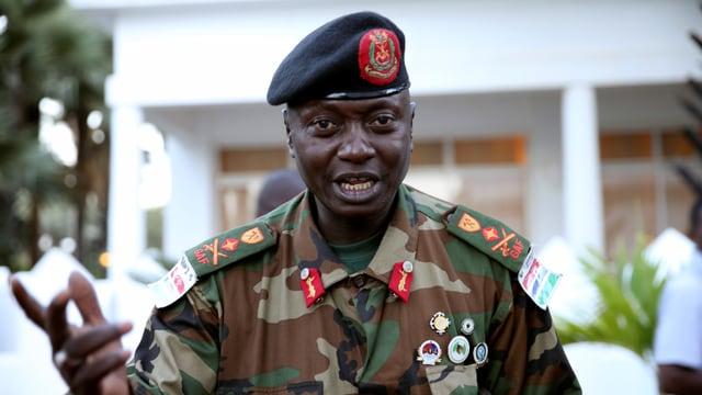 Generalstabschef Ousman Badgie.