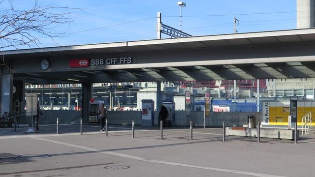 Bahnhofgebäude Brugg.