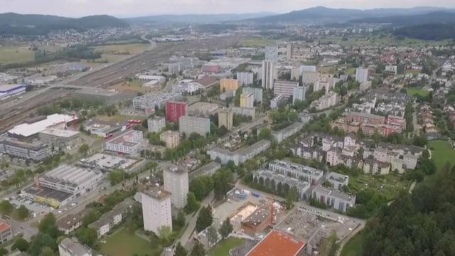 Luftaufnahme von Spreitenbach