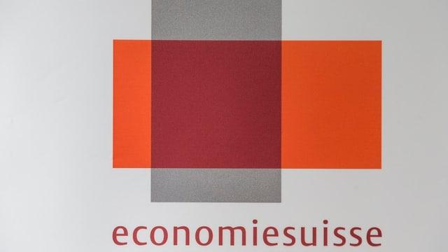 Logo der Economiesuisse.