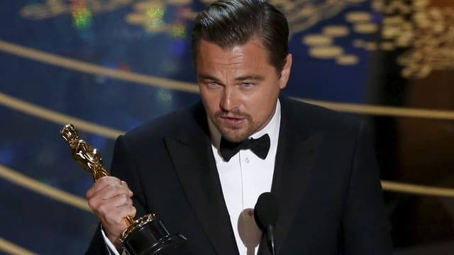 L'actur Leonardo Di Caprio