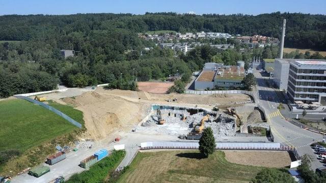 KSB-Grossbaustelle von oben