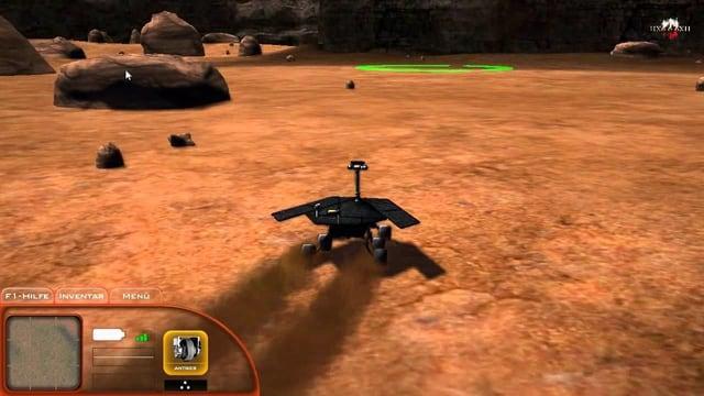 Der Mars kann von Haus aus leider nicht mit abwechslungsreichen Szenarien glänzen.