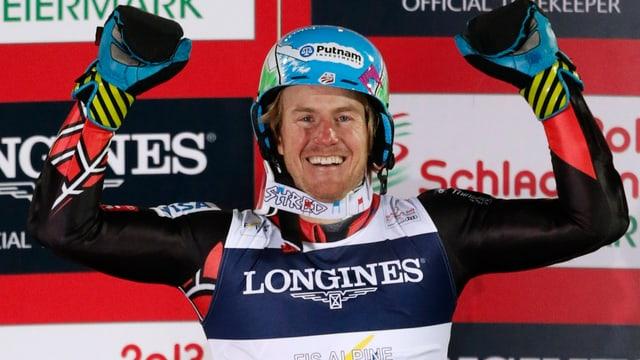 Ted Ligety holt sich im Riesenslalom die 3. Goldmedaille bei dieser WM.