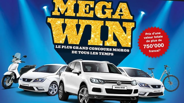MegaWin-Wettbewerbs-Poster