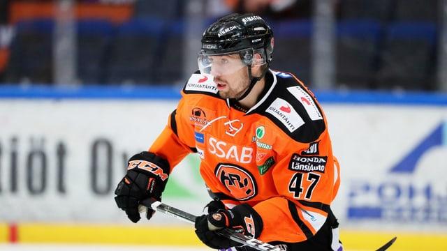 Janne Lahti ist der bekannteste Spieler von HPK. Er wurde mit Finnland Weltmeister.