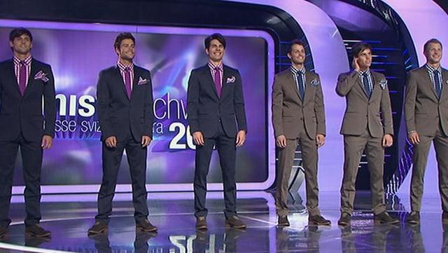 Die Kandidaten im Anzug