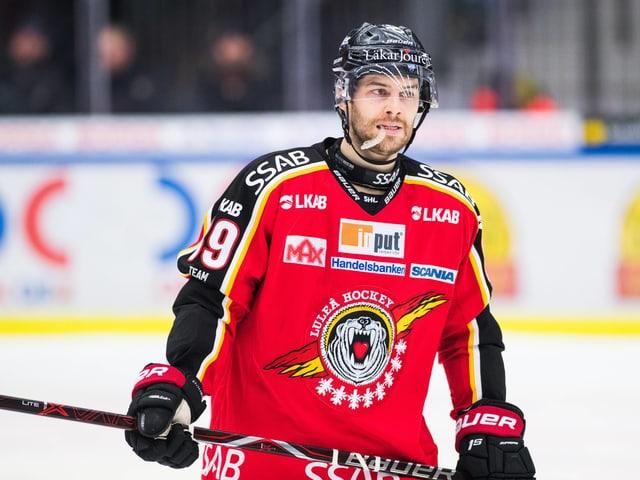 Ryan Johnston spielt neu für Lugano.