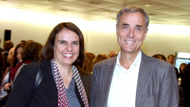 Guy Morin und Elisabeth Ackermann