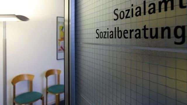 Eingangsbereich eines Sozialamtes