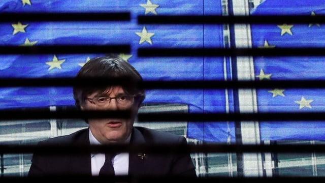 Zu sehen Carles Puigdemont