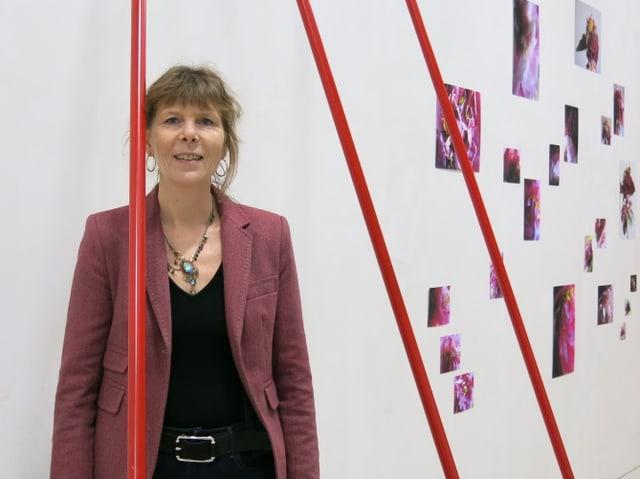 Valentine Reymond im Museum vom Moutier