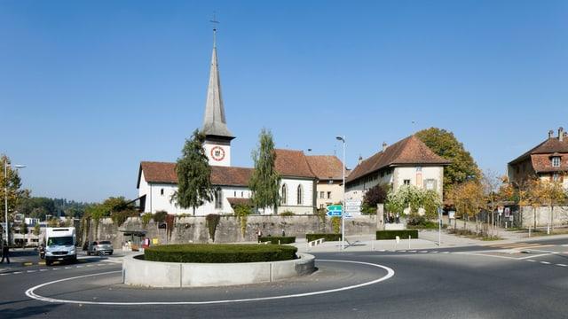 Die Gemeinde Köniz bei Bern.