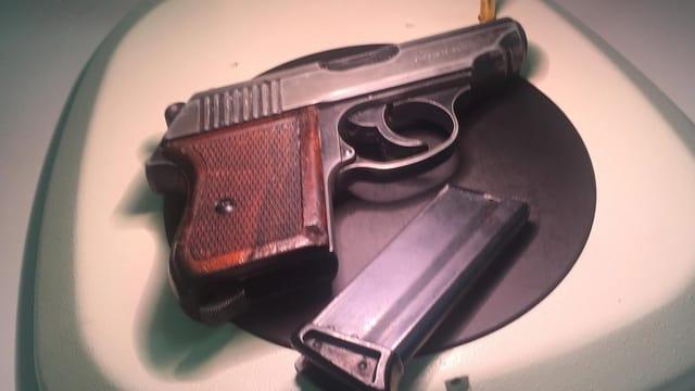 Pistole vom Typ Erma.