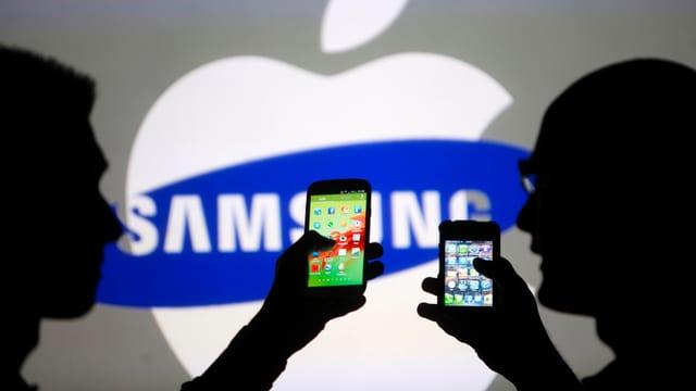 Das Duell der Technologie-Giganten Samsung und Apple geht in eine neue Runde.