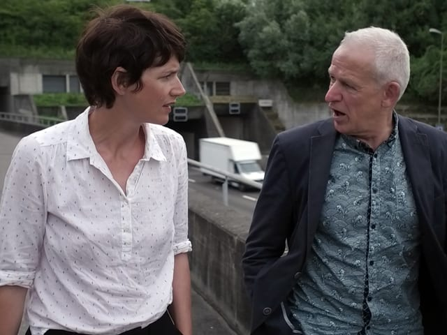 Kathrin Winzenried und Lukas Bühlmann