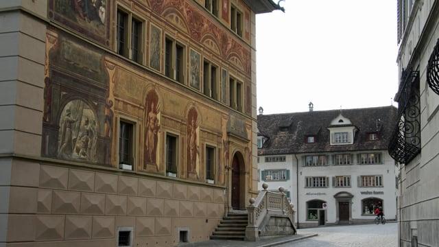 Das Rathaus Schwyz