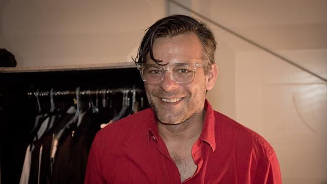 Ein Bild vom Drummer von Interpol