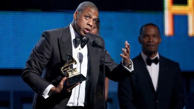 Der Rapper gewann einen Grammy-Award für seinen Song mit Justin Timberlake.