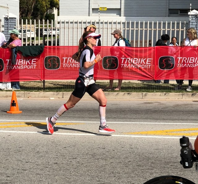 Sophie rennend
