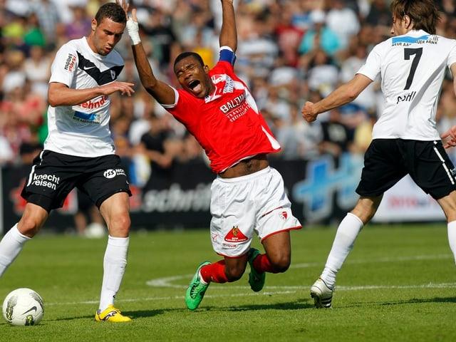 Barrage-Spiel von 2012: Sion gegen Aarau