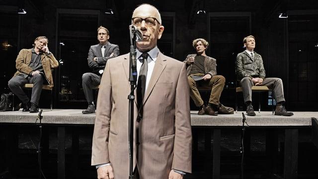 Schauspieler Hans Jürg Müller am Theater St.Gallen