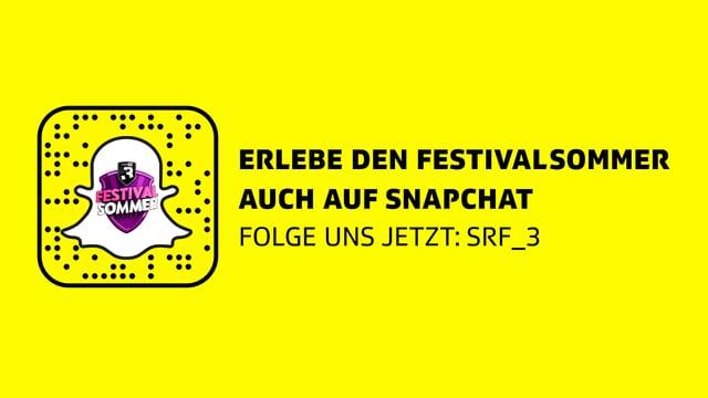Folge uns auf Snapchat: srf_3