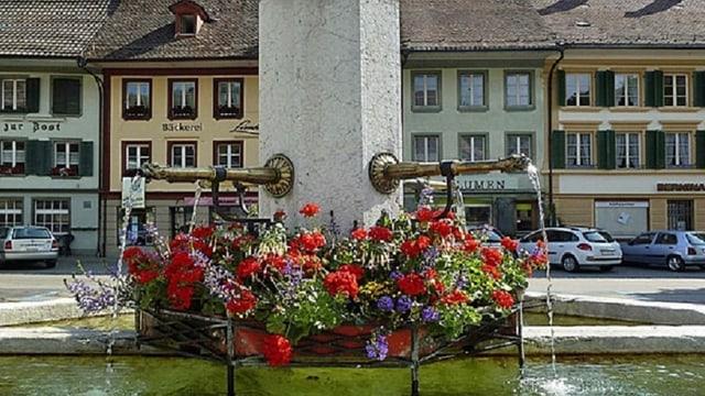 Brunnenplatz Huttwil