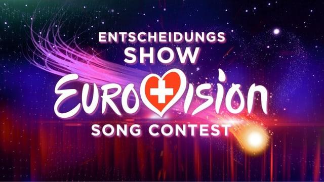 Visual vom Eurovision Song Contest – die Entscheidungs-Show.