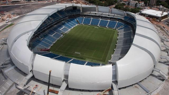 Das Estadio das Dunas von oben.