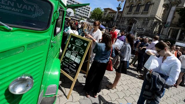 Ein Food-Truck.