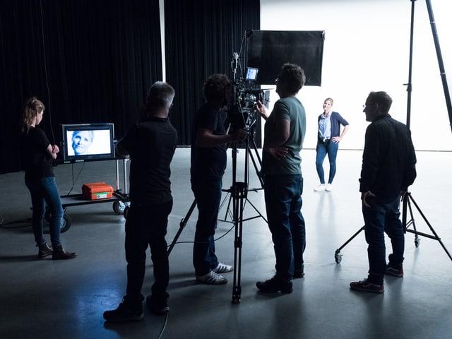 Dreharbeiten für die neuen Spots der Imagekampagne «Die Schweiz im Herzen».