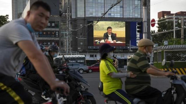 Alltagsszene in China