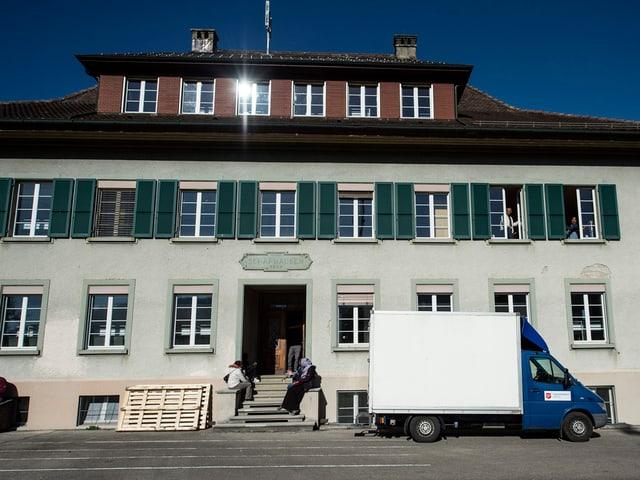 Schulhaus Schafhausen.