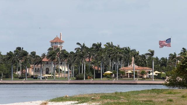Das Trump-Anwesen Mar-al-Lago in Palm Beach erwartet hohen Besuch aus China: Präsident Xi Jinping.