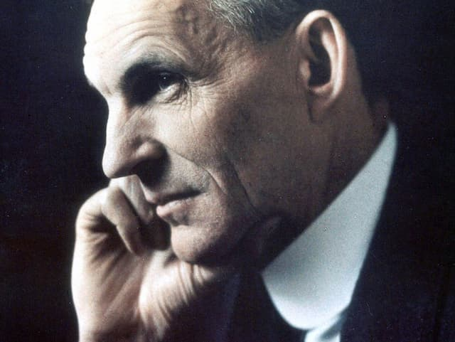 Profilbild von Henry Ford.