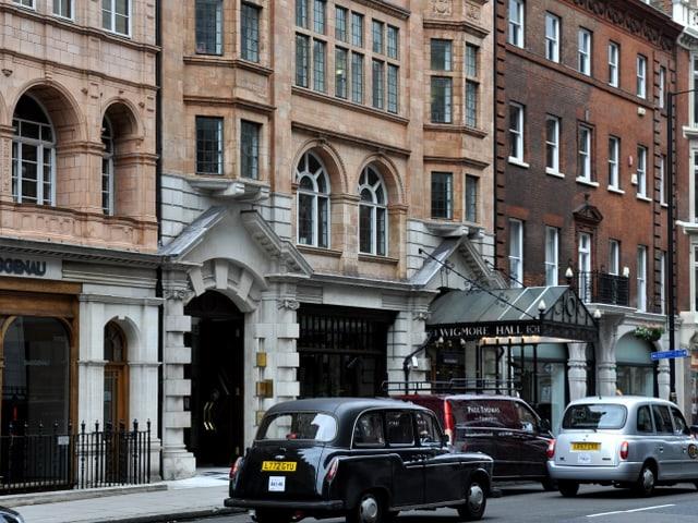 Wigmore Hall, London.