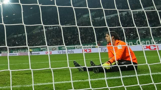 Yann Sommer und seine Borussia erneut geschlagen