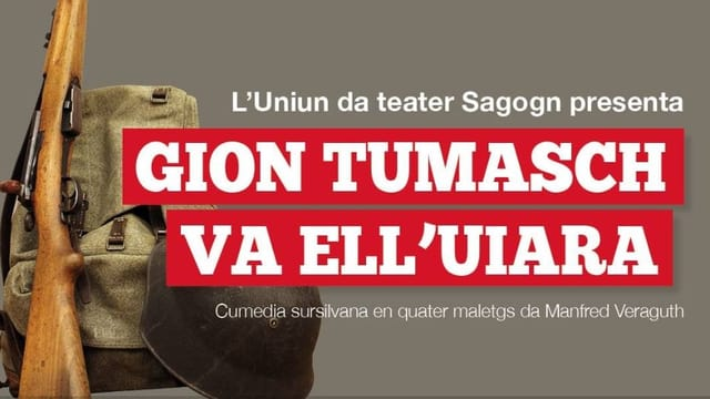 L'Uniun da teater Sagogn presenta «Gion Tumasch va ell'uiara».