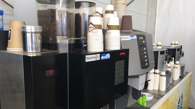Gratis-Kaffee.